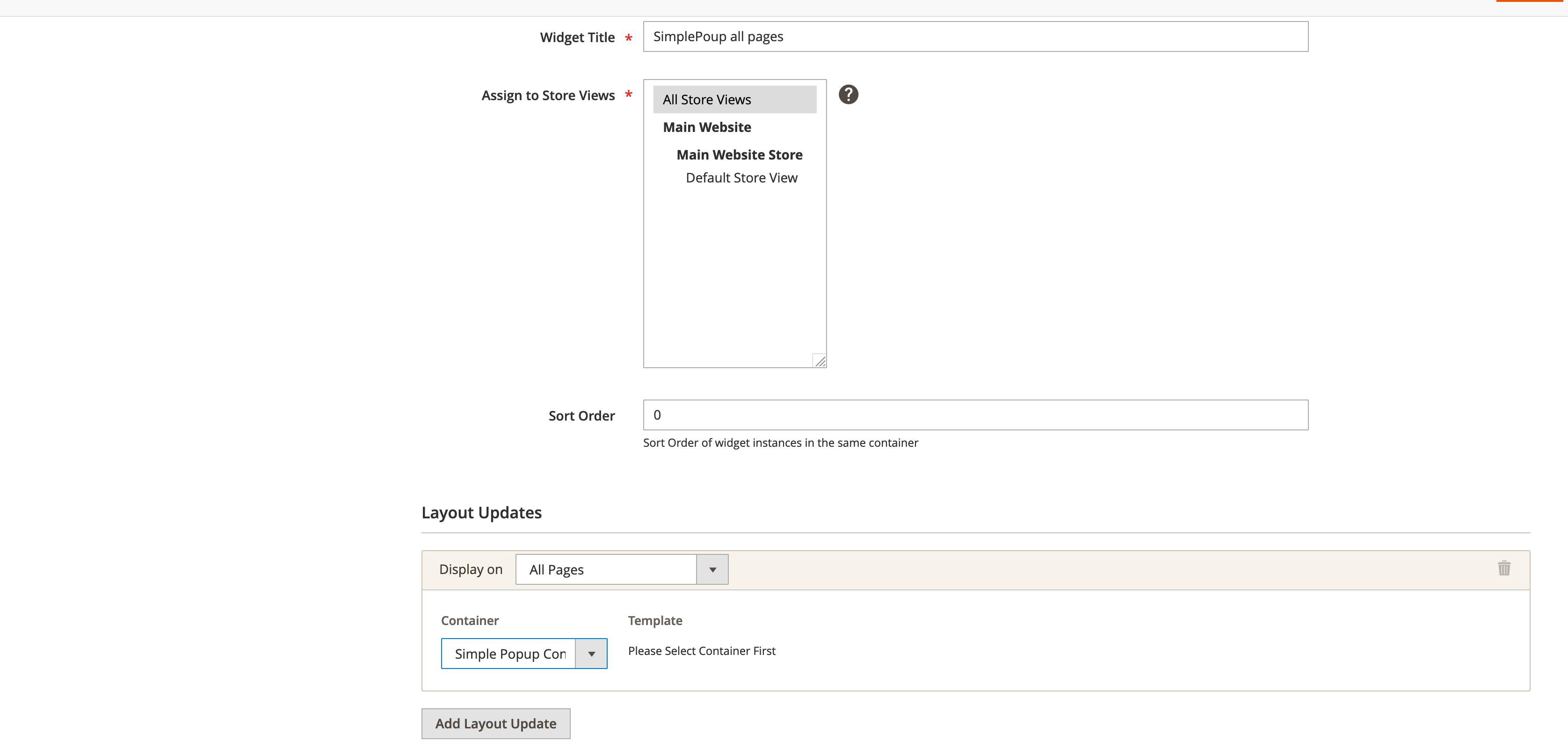 Magento2-SimplePopupWidget-Widget-layout